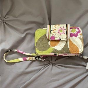 Vera Bradley Wristlet Wallet Clutch with ID holder